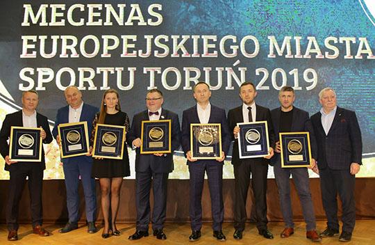 Nagroda Mecenasa Europejskiego Miasta Sportu