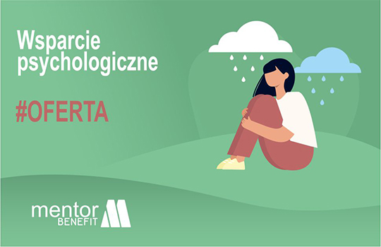 Nowa oferta Mentor Benefit: wsparcie psychologiczne